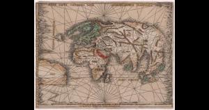 Première carte américaine