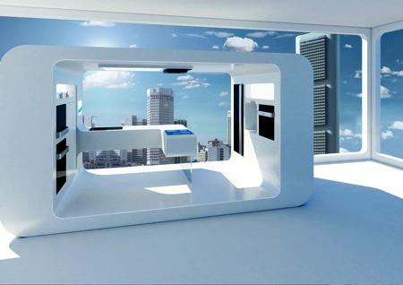 mobilier futuriste la cuisine de demain. Black Bedroom Furniture Sets. Home Design Ideas