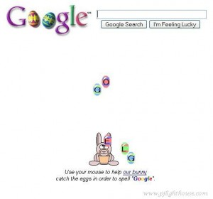 Le Google Easter Egg