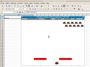 Le Jeu Star Wars de OpenOffice