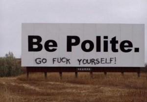 politesse américaine