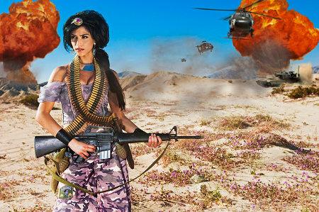 Jasmine dans son Bagdad moderne
