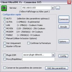 connexion client vnc