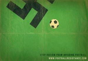 Stoppons le racisme envahissant le football