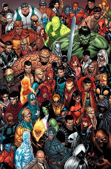 La grande famille Marvel