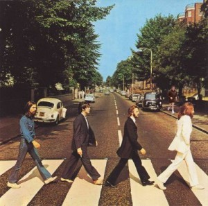 footing sur Abbey Road