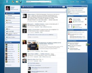 Mon Facebook avec un style Windows 7