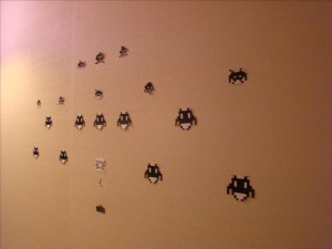 decoration-space-invaders