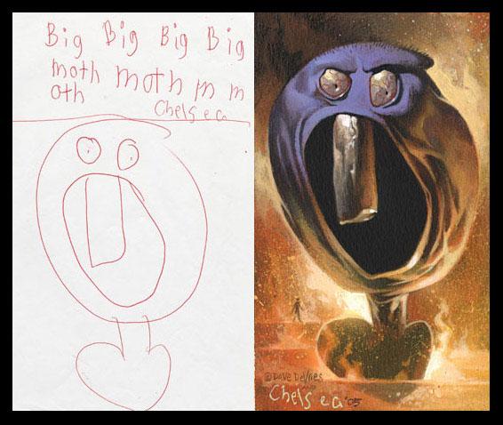 A quoi ressemble un dessin d enfant peint de mani re for Statut illustrateur