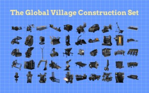 village-construction-machine