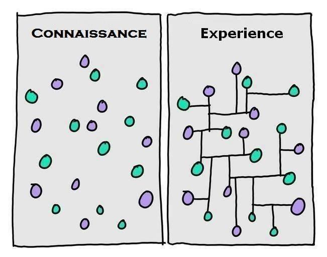 connaissance-vs-experience